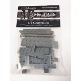 ME Models Metal Rails Conversion Pack DONKERGRIJS