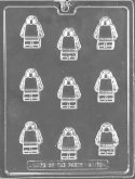 Candy Mold Chocolate Minifigs