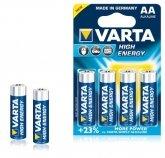VARTA Alkaline Batterij AA (4 stuks)