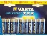 VARTA Alkaline Battery AAA (10 pcs)