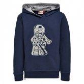 LEGO Sweater Ninjago DONKERBLAUW (Saxton 203 Maat 134)