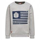 LEGO Sweater LICHTGRIJS (Saxton 301 Maat 128)