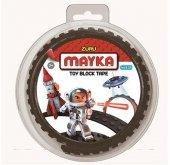 MAYKA Toy Block Tape 2-nop 1 meter ZWART