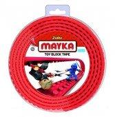 MAYKA Toy Block Tape 2-nop 2 meter ROOD