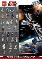 LEGO Poster Star Wars Minifiguren 2010 GRATIS