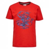 LEGO T-Shirt Ninjago ROOD (Teo 301 Maat 134)