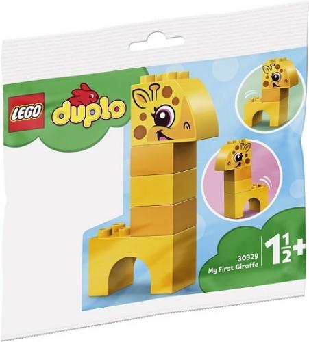 DUPLO 30329 Mijn Eerste Giraffe (Polybag) - schoencadeautjes tot 5 euro