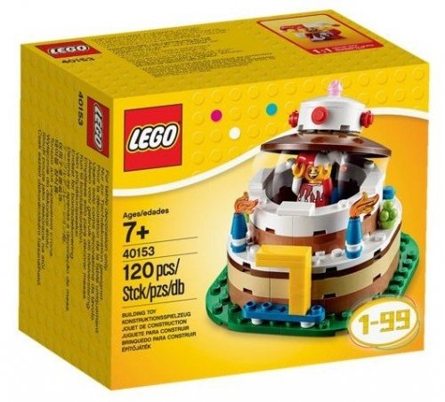 Magnificent Lego Birthday Cake Lego 40153 673419237598 Brickshop Lego Funny Birthday Cards Online Sheoxdamsfinfo