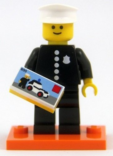 Classic Police Officer NEW LEGO MINIFIGURES SERIES 18 71021