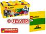 LEGO 10696 Bouwstenen Set + GRATIS Grondplaat